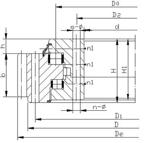 三排柱式回转支承(13系列)